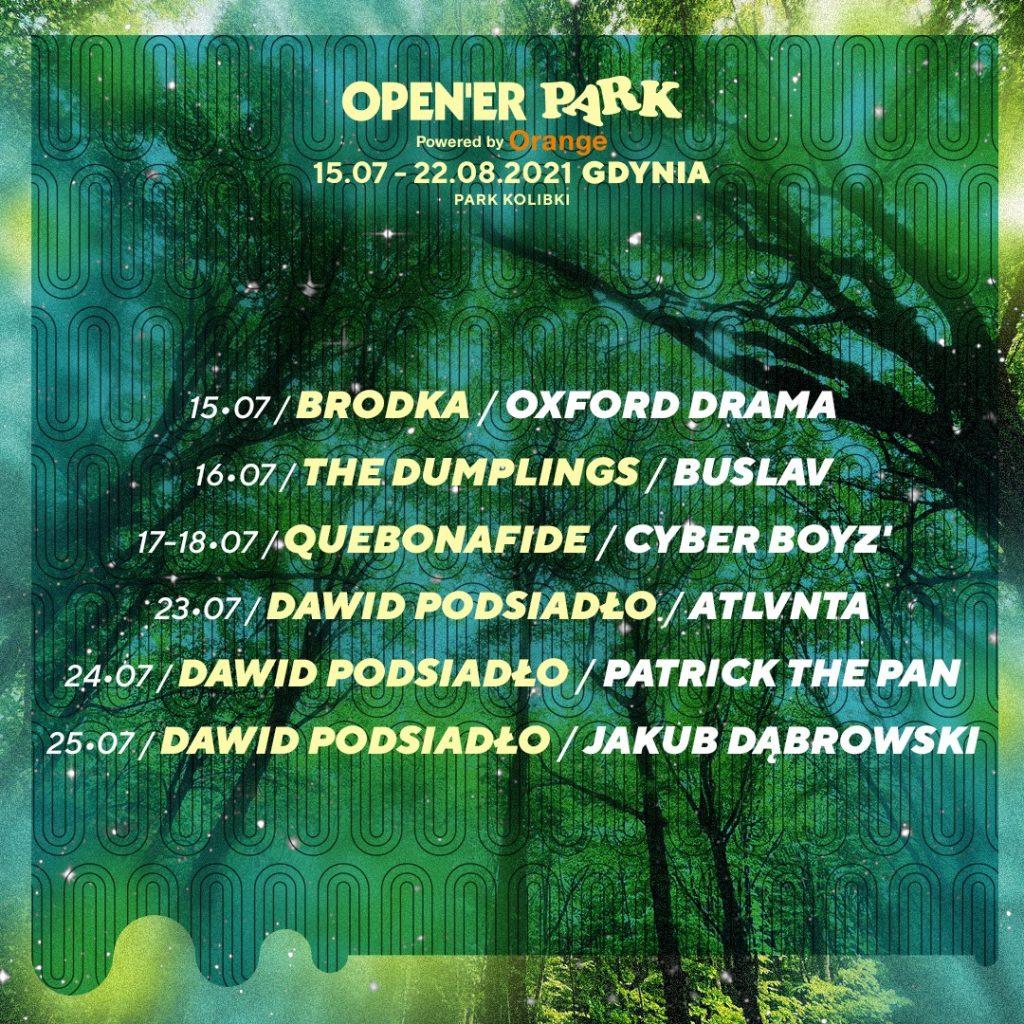 Open'er Park znów ogłasza
