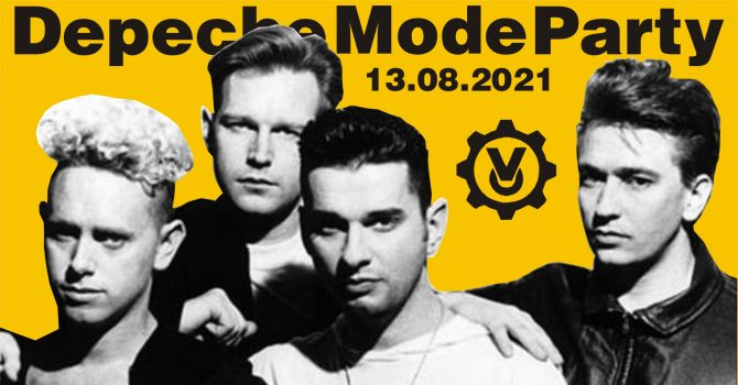 Depeche Mode Party - Back to Violator / 13.08 /