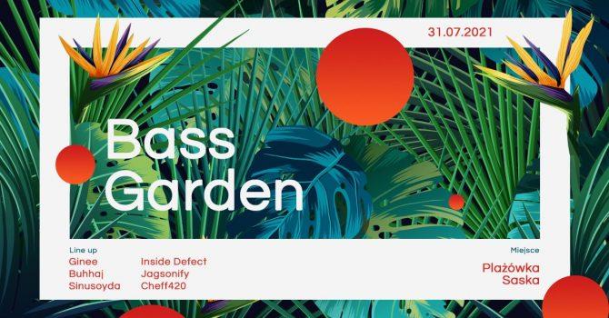 Bass Garden na plaży | Plażówka Saska