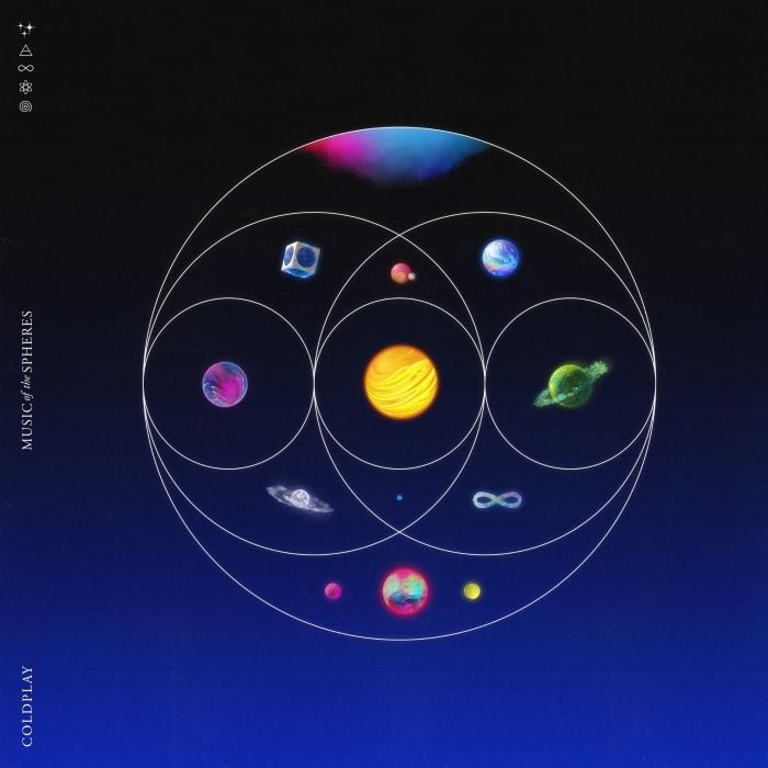 "Coldplay - ""Music of the Spheres"", okładka"
