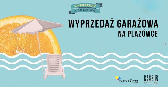 Plażówka Saska - Wyprzedaż Garażowa - 14.08.2021