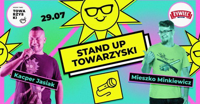 Stand-up Towarzyski: Mieszko Minkiewicz x Kacper Jasiak