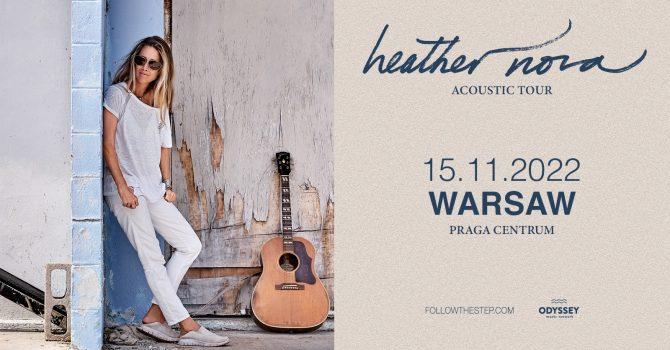 Heather Nova / 15 listopada 2022 / Warszawa