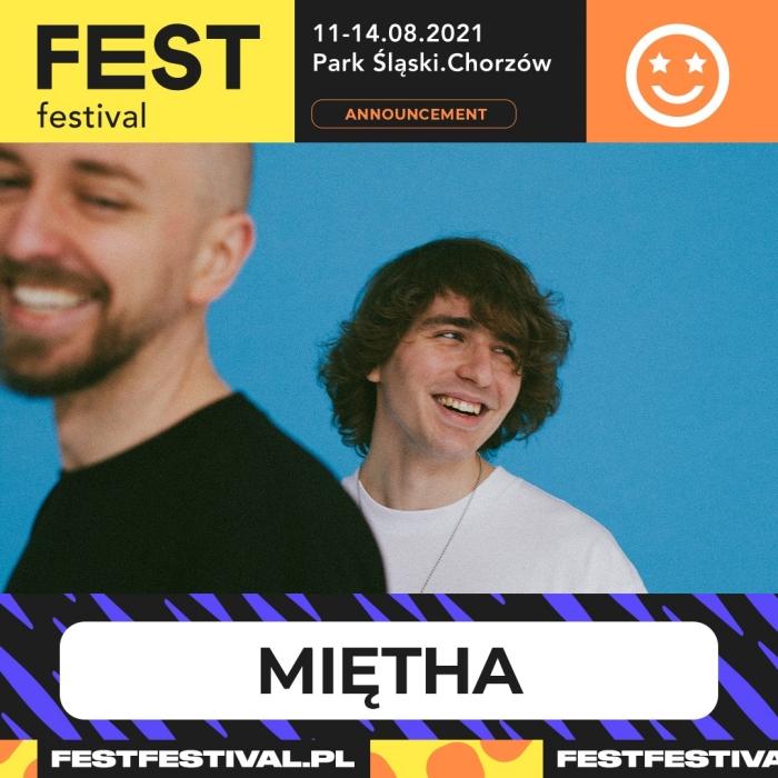 Miętha na FEST Festival 2021