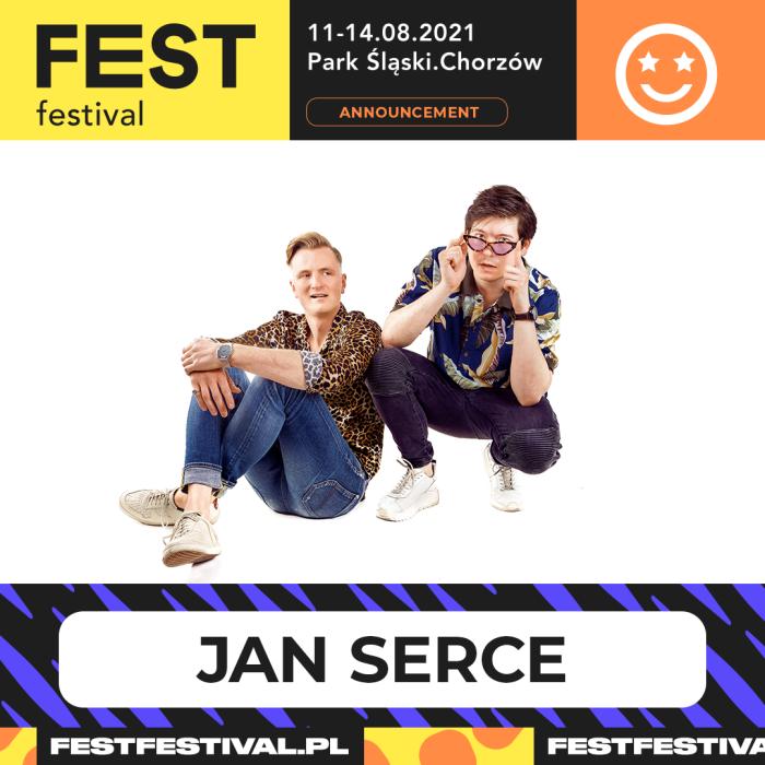 Jan Serce na FEST Festival 2021
