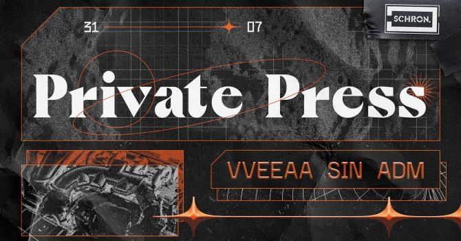 PRIVATE PRESS / VVEEAA / SIN / ADM