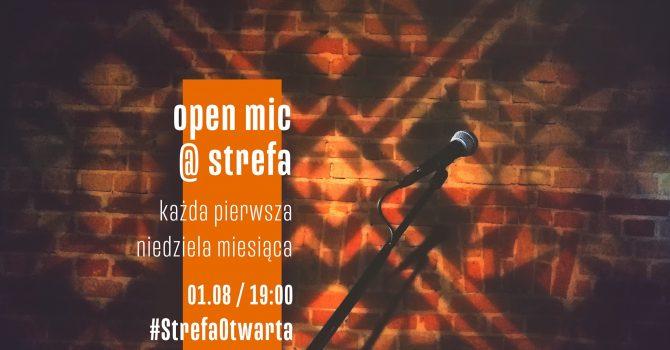 StrefaOtwarta | Open Mic at Strefa