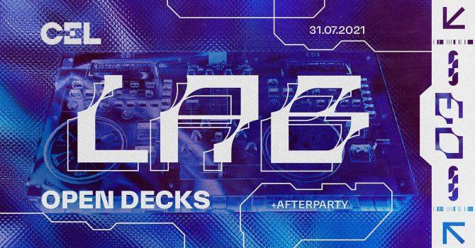 CEL Lab 003: Open Decks + Afterparty CEL Crew