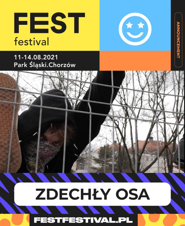 Zdechły Osa na FEST Festival 2021