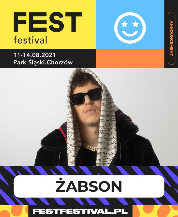 Żabson na FEST Festival 2021