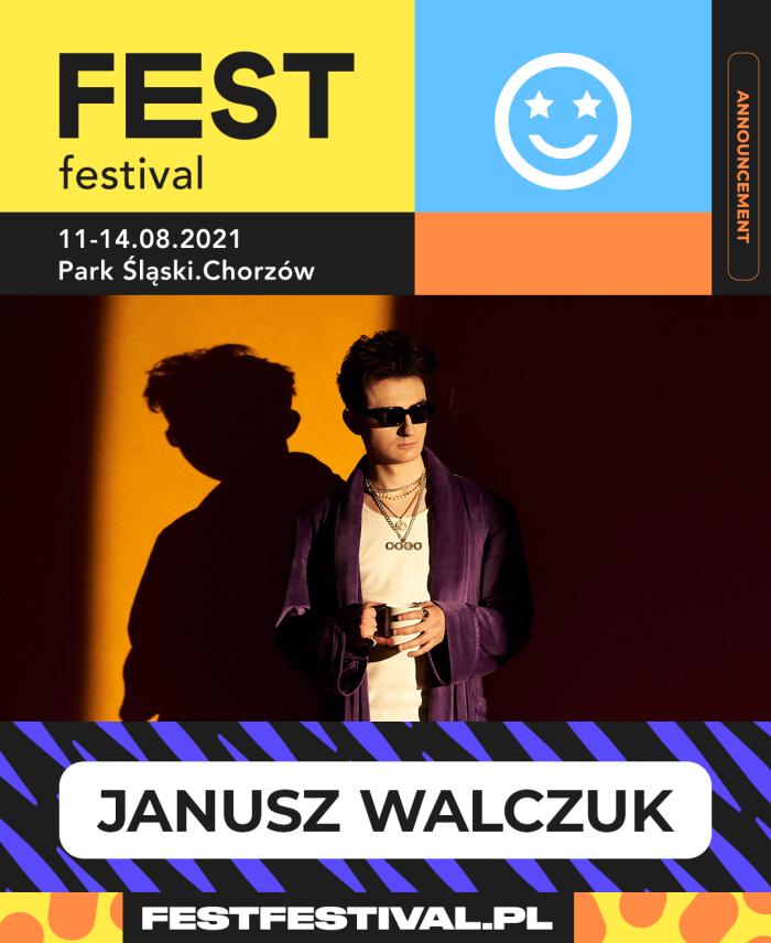 Janusz Walczak na FEST Festival 2021