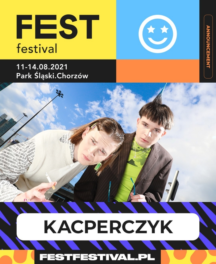 Kacperczyk na FEST Festival 2021