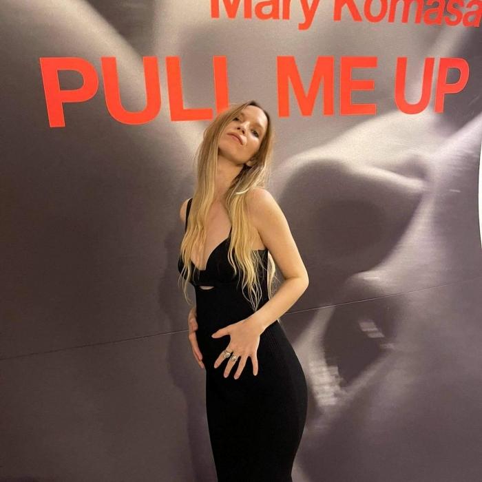 Mary Komasa w ciąży
