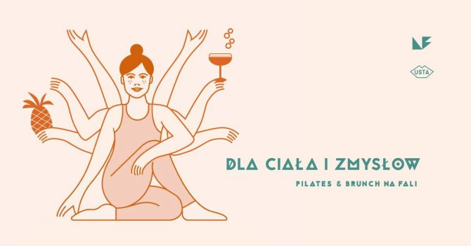 Dla ciała i zmysłów - pilates + brunch na Fali.