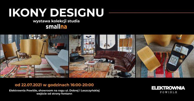 IKONY DESIGNU: Elektrownia Powiśle i Studio smallna zapraszają na wystawę sztuki użytkowej