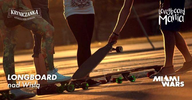 Longboard nad Wisłą