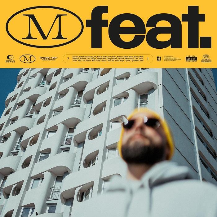 Magiera - FEAT. - okładka albumu