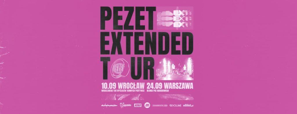 Pezet Extended koncerty