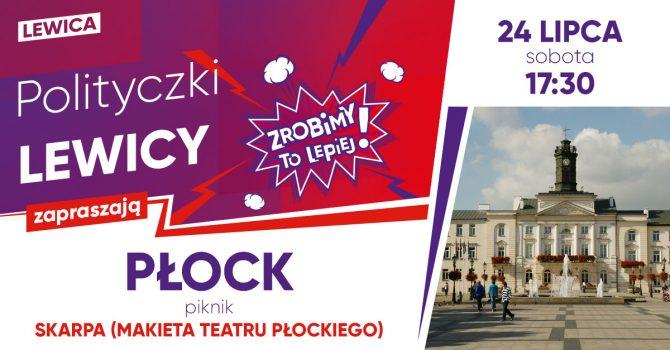 Piknik z Polityczkami Lewicy   Płock