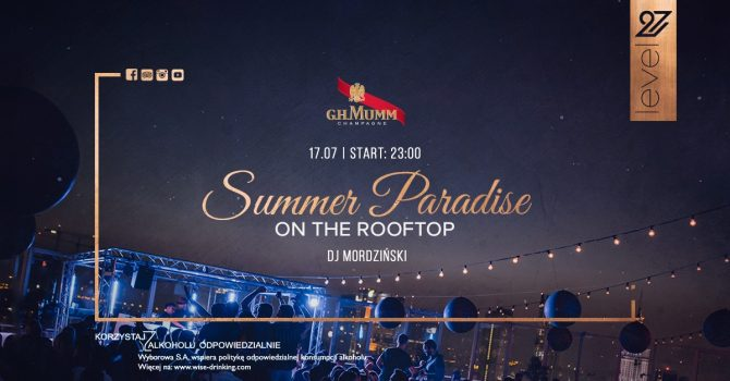 Summer Paradise on the rooftop