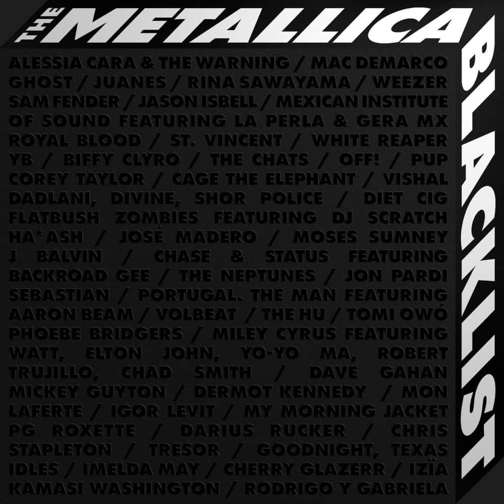 """Od przybytku głowa boli - recenzja płyty """"The Metallica Blacklist"""""""