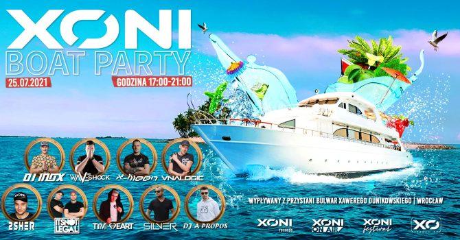 XONI BOAT PARTY