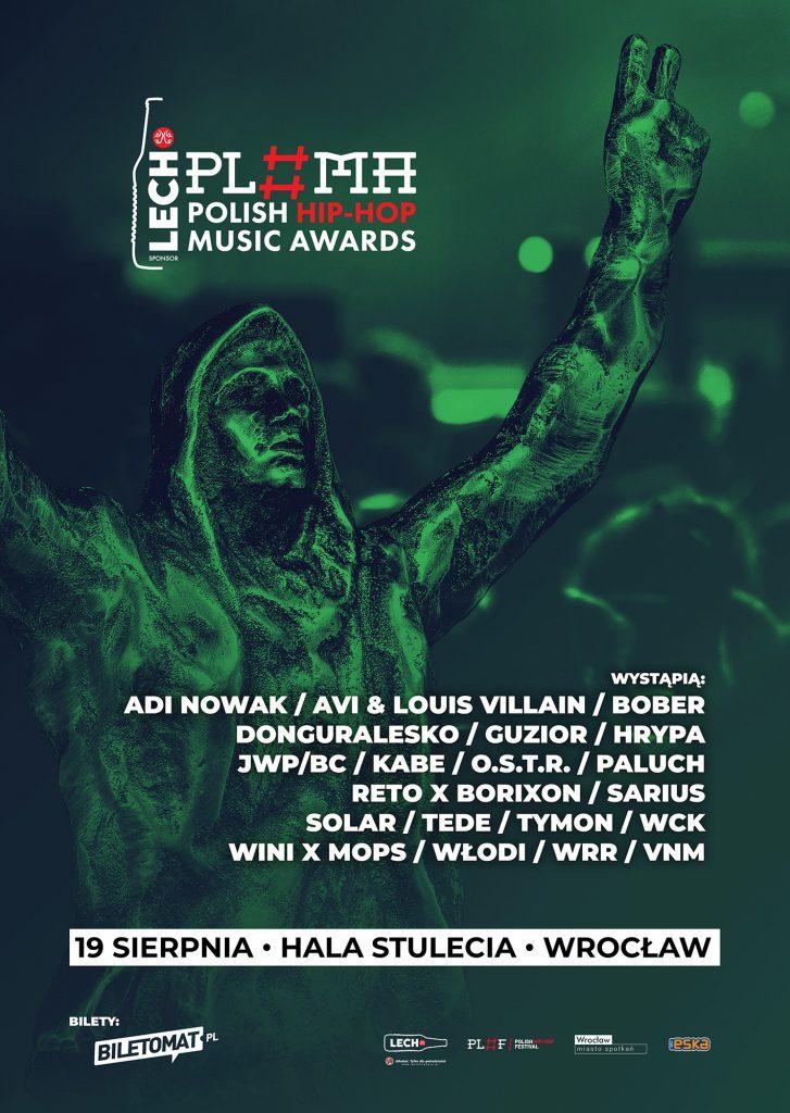 Lech Polish Hip-Hop Music Awards - znamy line-up
