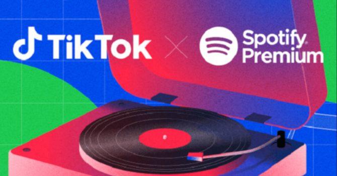 Spotify współpracuje z TikTokiem i oferuje darmowe konto Premium