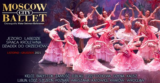 Moscow City Ballet: Jezioro Łabędzie / Warszawa