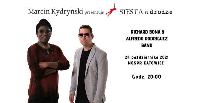 Marcin Kydryński zaprasza Richard Bona & Alfredo Rodriguez Band