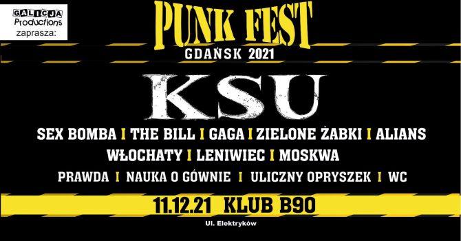 PUNK FEST | 11.12.21 Gdańsk Klub B90