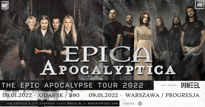 Apocalyptica, Epica + Wheel / 8 I / Gdańsk