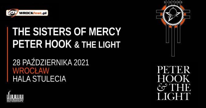 The Sisters Of Mercy oraz Peter Hook wystąpią we Wrocławiu!