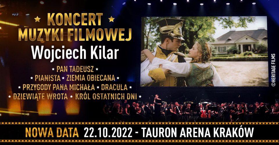 Koncert Muzyki Filmowej - utwory Wojciecha Kilara
