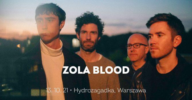 Zola Blood 13.10 | Hydrozagadka, Warszawa - Live Online 2021