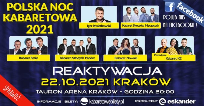 Kraków / Polska Noc Kabaretowa 2021