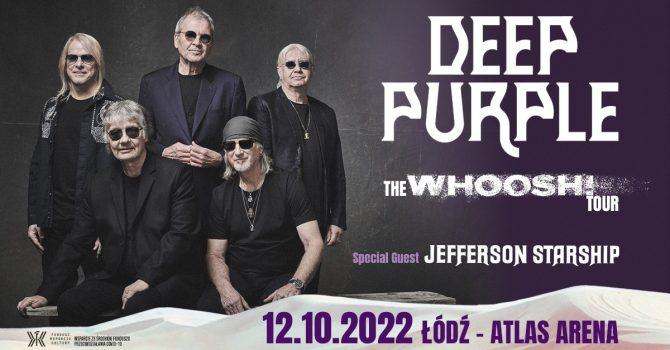 12.10.2022 Deep Purple + Jefferson Starship // Łódź - Atlas Arena