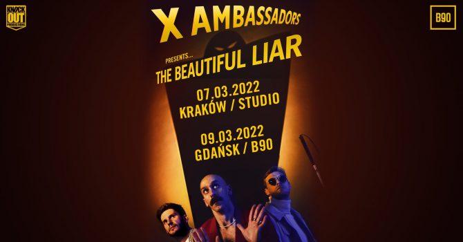 X Ambassadors / 09.03.2022 / B90, Gdańsk