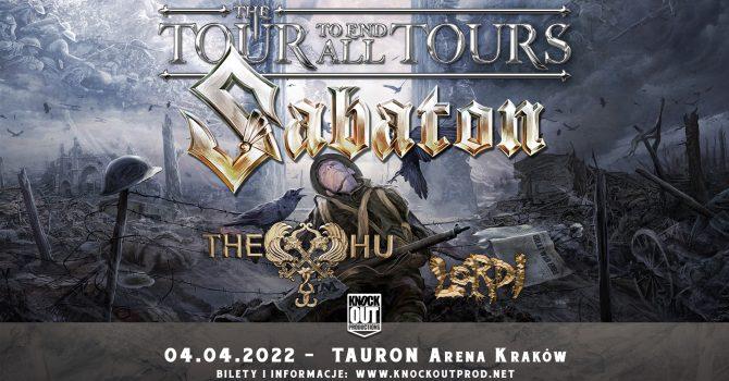 Sabaton + The HU, Lordi / 4 IV / Kraków