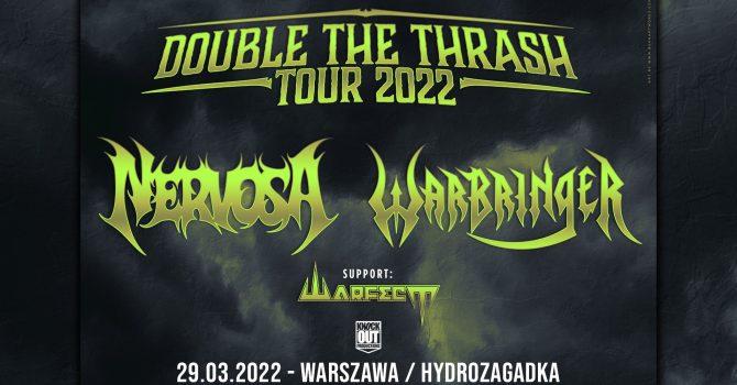 Nervosa, Warbringer + Warfect / 29 III / Warszawa