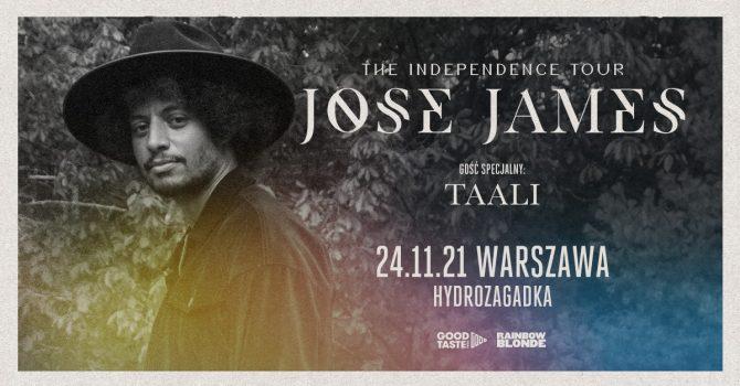 José James - The Independence Tour / Warszawa / 24.11.2021