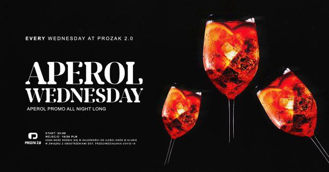 Aperol Wednesday x Prozak 2.0