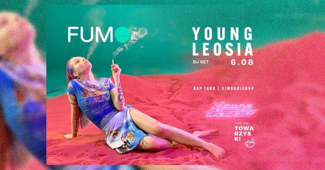 FUMO x Young Leosia (Dj set) na Nocnym Towarzyskim