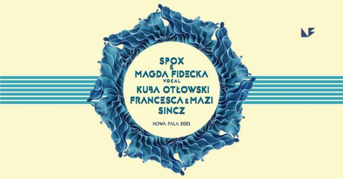 Sobota na Fali: Spox + Magda Fidecka (vocal), Kuba Otłowski, Sincz, Francesca, Mazi