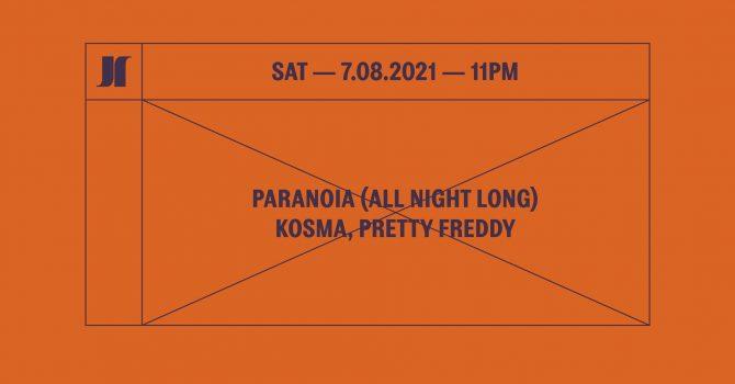 J1 | Paranoia (All Night Long) / Kosma, Pretty Freddy