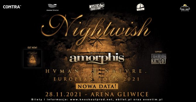 Nightwish + Amorphis, Turmion Kätilöt / 28.11.2021 / Arena Gliwice