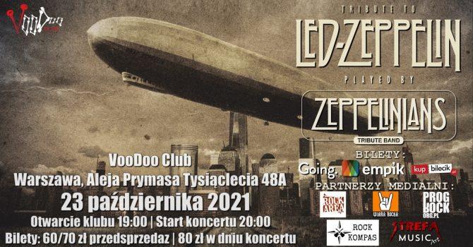 Zeppelinians w VooDoo Club - Warszawa