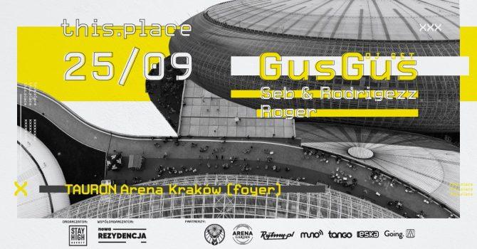 this.place w. GusGus (DJ set) x Łowcy