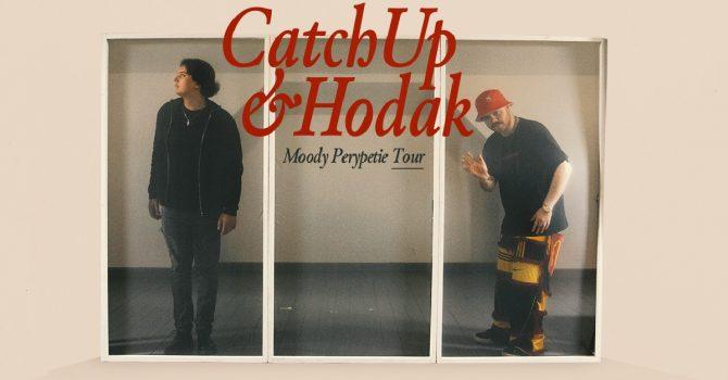 """CatchUp i Hodak – wspólna trasa to wspólny singiel. Przygotujcie się na """"Moody Perypetie"""""""