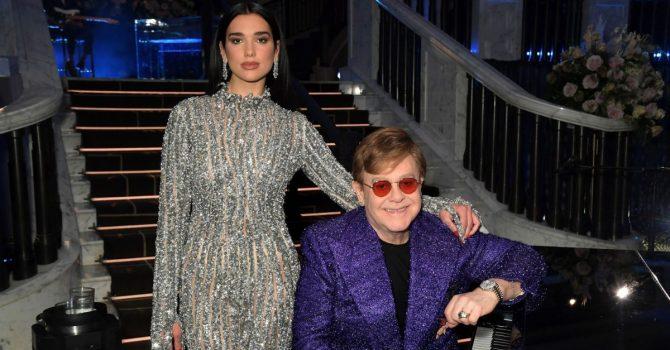 """Dua Lipa i Elton John zapowiadają wspólny utwór """"Cold Heart"""""""